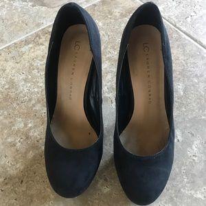 LC Lauren Conrad Black High Heels